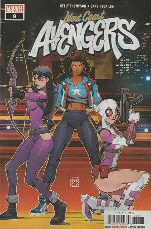 Cover of West Coast Avengers (2018 Ltd) #8. One of 250,000 Vintage American Comics on sale from Krypton!