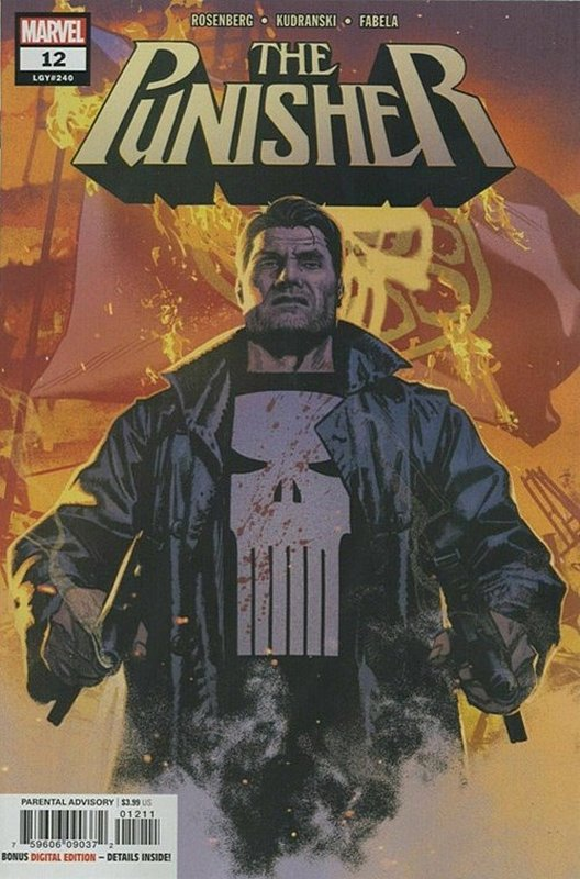 Cover of Punisher (Vol 9) #12. One of 250,000 Vintage American Comics on sale from Krypton!
