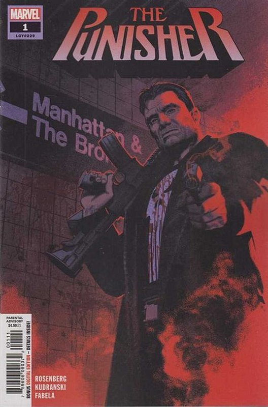 Cover of Punisher (Vol 9) #1. One of 250,000 Vintage American Comics on sale from Krypton!