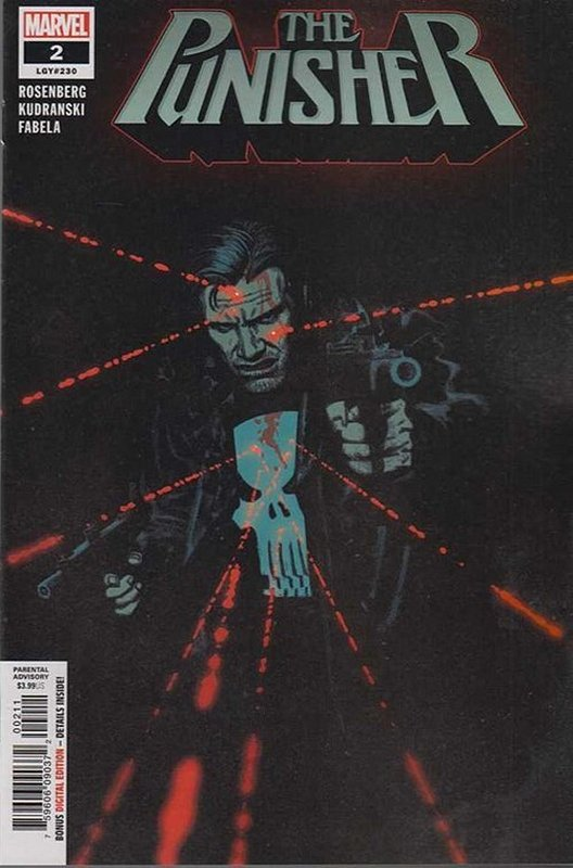 Cover of Punisher (Vol 9) #2. One of 250,000 Vintage American Comics on sale from Krypton!