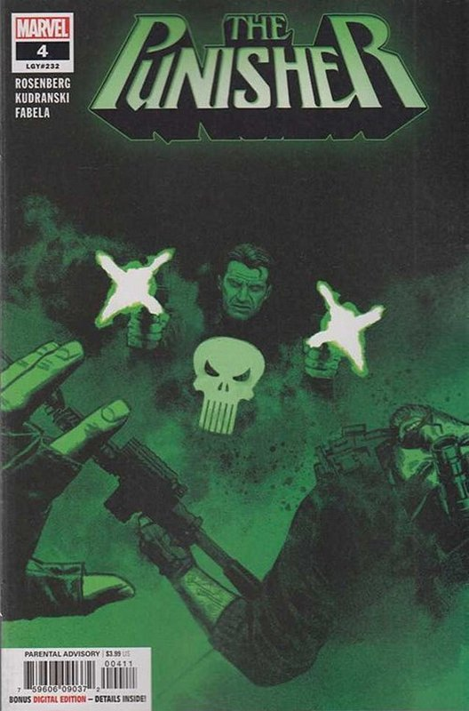 Cover of Punisher (Vol 9) #4. One of 250,000 Vintage American Comics on sale from Krypton!