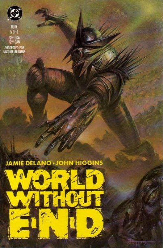 Cover of World Without End (1990 Ltd) #5. One of 250,000 Vintage American Comics on sale from Krypton!