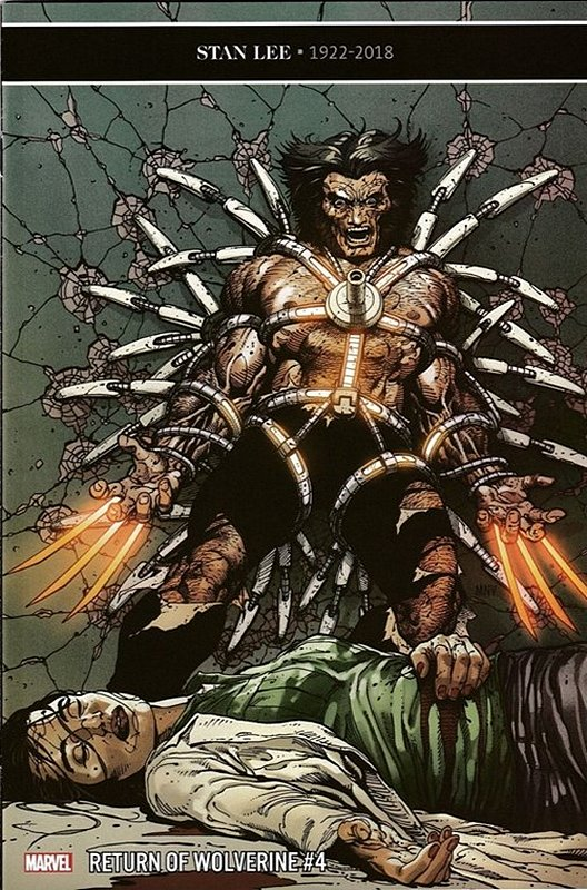 Cover of Return of Wolverine (2018 Ltd) #4. One of 250,000 Vintage American Comics on sale from Krypton!