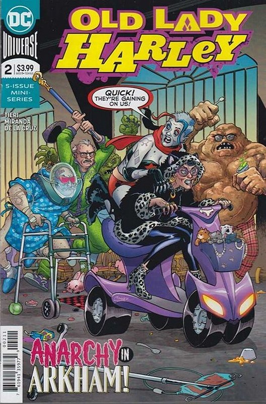 Cover of Old Lady Harley (2018 Ltd) #2. One of 250,000 Vintage American Comics on sale from Krypton!
