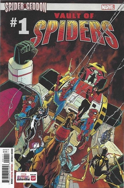 Cover of Vault of Spiders (2018 Ltd) #1. One of 250,000 Vintage American Comics on sale from Krypton!
