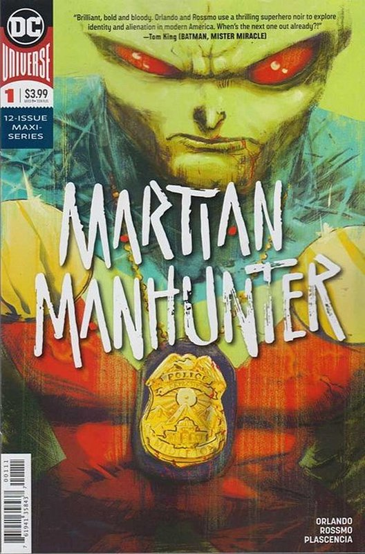 Cover of Martian Manhunter (2019 Ltd) #1. One of 250,000 Vintage American Comics on sale from Krypton!
