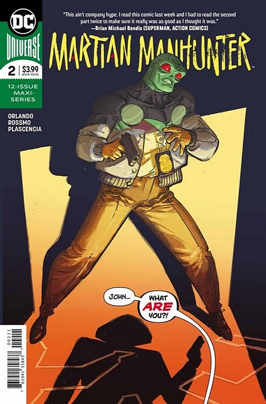 Cover of Martian Manhunter (2019 Ltd) #2. One of 250,000 Vintage American Comics on sale from Krypton!