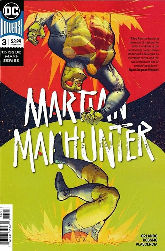 Cover of Martian Manhunter (2019 Ltd) #3. One of 250,000 Vintage American Comics on sale from Krypton!