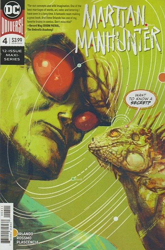 Cover of Martian Manhunter (2019 Ltd) #4. One of 250,000 Vintage American Comics on sale from Krypton!