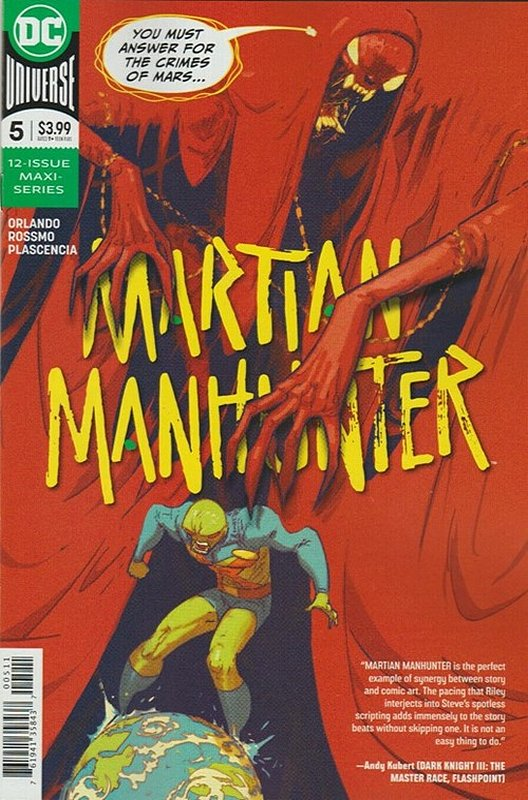 Cover of Martian Manhunter (2019 Ltd) #5. One of 250,000 Vintage American Comics on sale from Krypton!