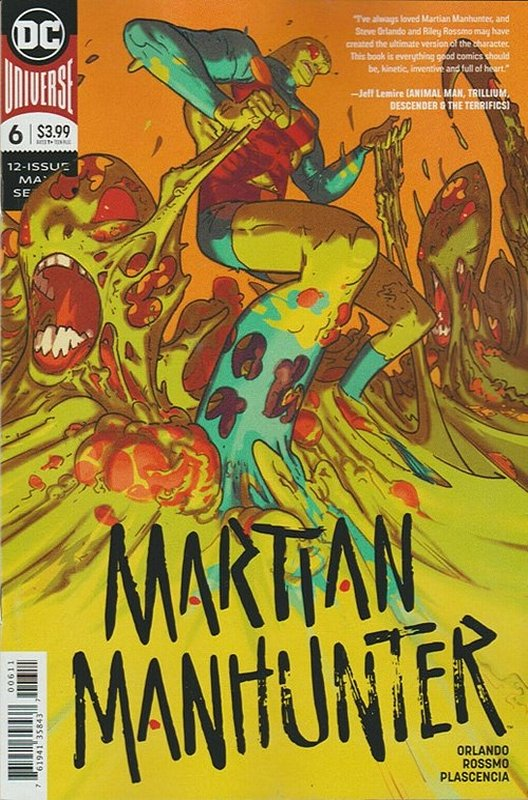 Cover of Martian Manhunter (2019 Ltd) #6. One of 250,000 Vintage American Comics on sale from Krypton!