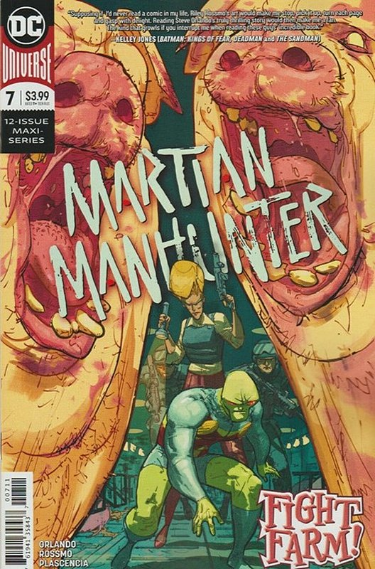 Cover of Martian Manhunter (2019 Ltd) #7. One of 250,000 Vintage American Comics on sale from Krypton!