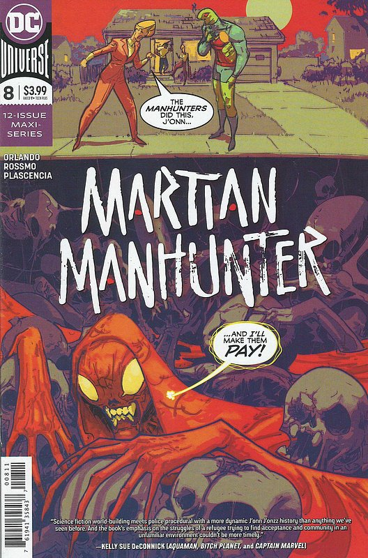 Cover of Martian Manhunter (2019 Ltd) #8. One of 250,000 Vintage American Comics on sale from Krypton!