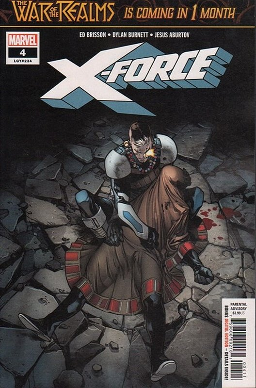 Cover of X-Force (Vol 5) #4. One of 250,000 Vintage American Comics on sale from Krypton!