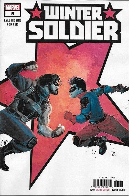Cover of Winter Soldier (2019 Ltd)) #5. One of 250,000 Vintage American Comics on sale from Krypton!