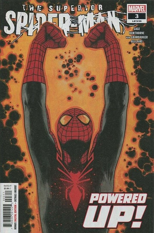 Cover of Superior Spider-Man (Vol 2) #3. One of 250,000 Vintage American Comics on sale from Krypton!