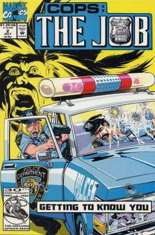 Cover of Cops: The Job (1992 Ltd) #2. One of 250,000 Vintage American Comics on sale from Krypton!
