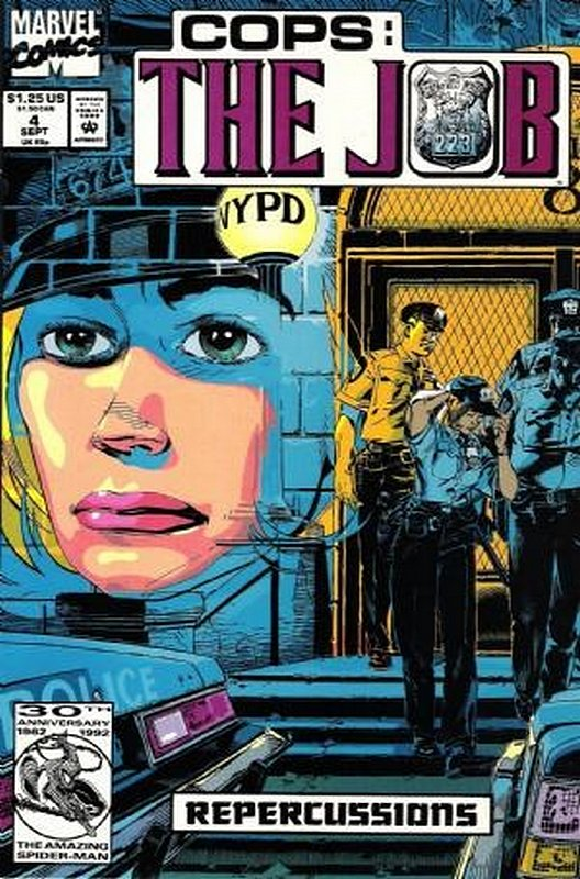 Cover of Cops: The Job (1992 Ltd) #4. One of 250,000 Vintage American Comics on sale from Krypton!