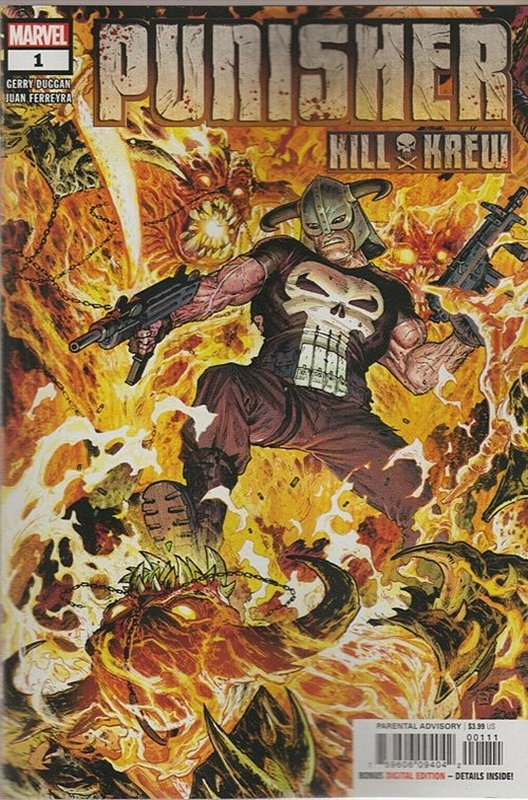 Cover of Punisher: Kill Krew (2019 Ltd) #1. One of 250,000 Vintage American Comics on sale from Krypton!