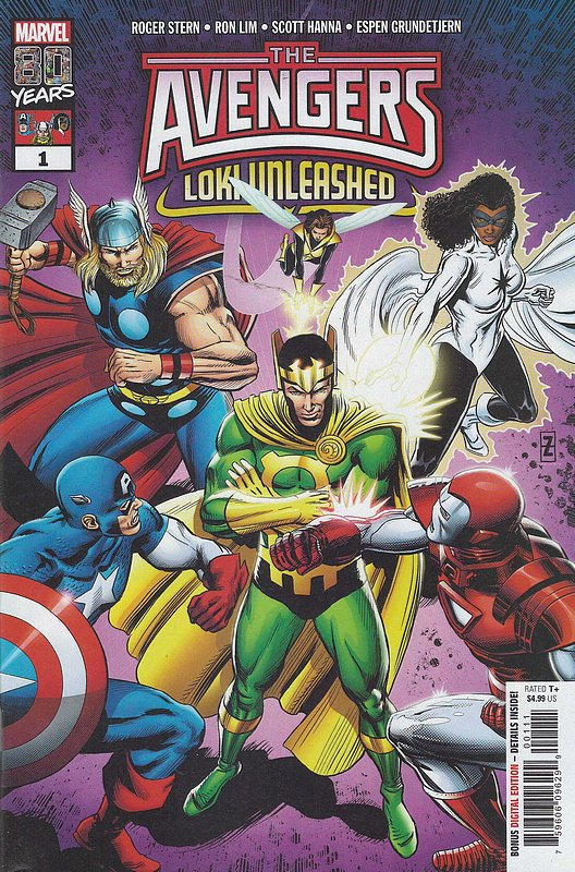Cover of Avengers: Loki Unleashed (2019 One Shot) #1. One of 250,000 Vintage American Comics on sale from Krypton!