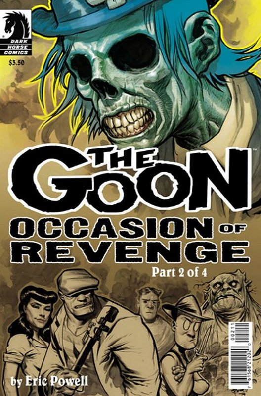 Cover of Goon: Occasion of Revenge (2014 Ltd) The #2. One of 250,000 Vintage American Comics on sale from Krypton!