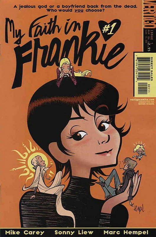 Cover of My Faith in Frankie (2004 Ltd) #1. One of 250,000 Vintage American Comics on sale from Krypton!