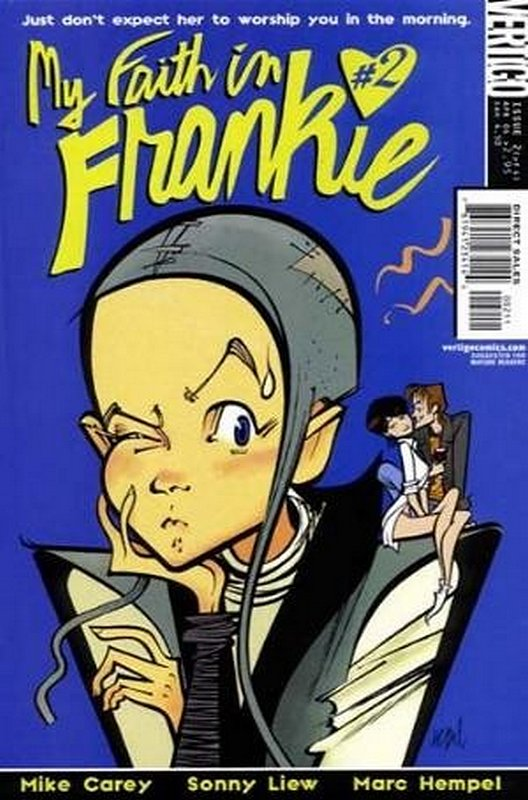 Cover of My Faith in Frankie (2004 Ltd) #2. One of 250,000 Vintage American Comics on sale from Krypton!