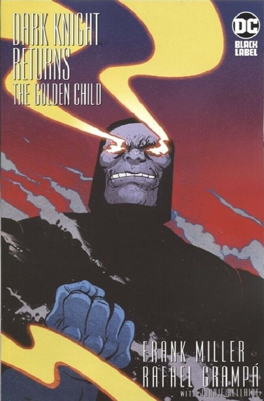 Cover of Dark Knight Returns - The Golden Child #1. One of 250,000 Vintage American Comics on sale from Krypton!