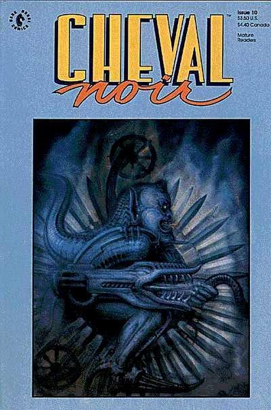 Cover of Cheval Noir (Vol 1) #10. One of 250,000 Vintage American Comics on sale from Krypton!