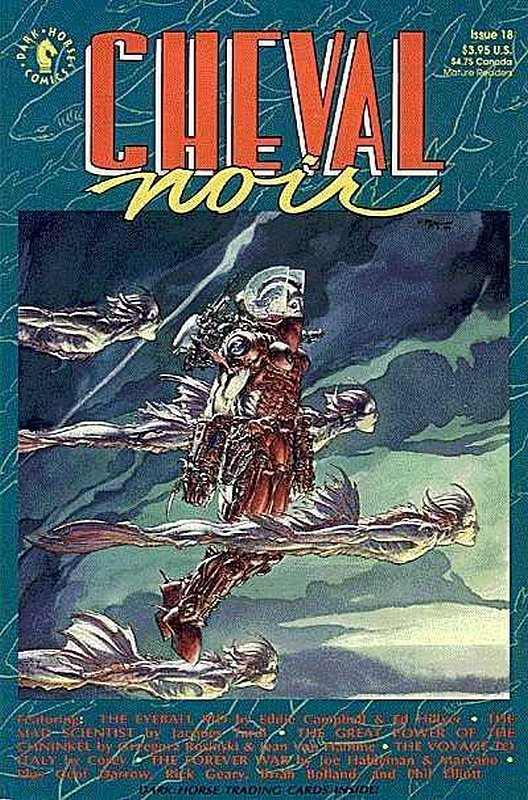 Cover of Cheval Noir (Vol 1) #18. One of 250,000 Vintage American Comics on sale from Krypton!