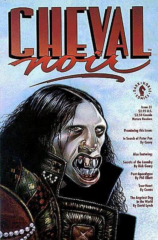 Cover of Cheval Noir (Vol 1) #31. One of 250,000 Vintage American Comics on sale from Krypton!