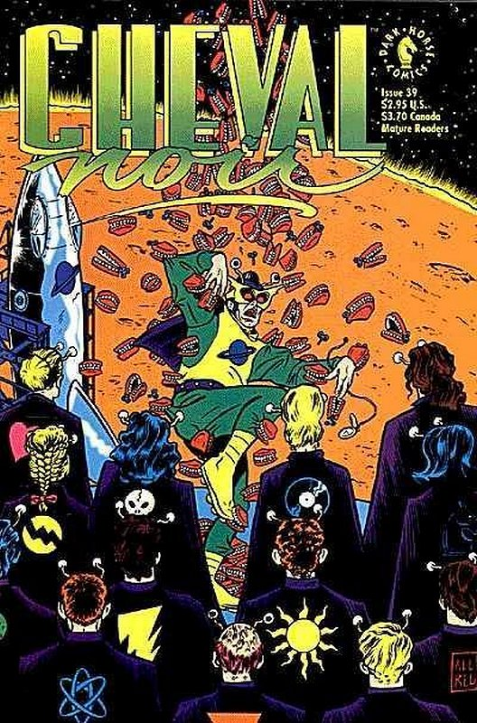 Cover of Cheval Noir (Vol 1) #39. One of 250,000 Vintage American Comics on sale from Krypton!