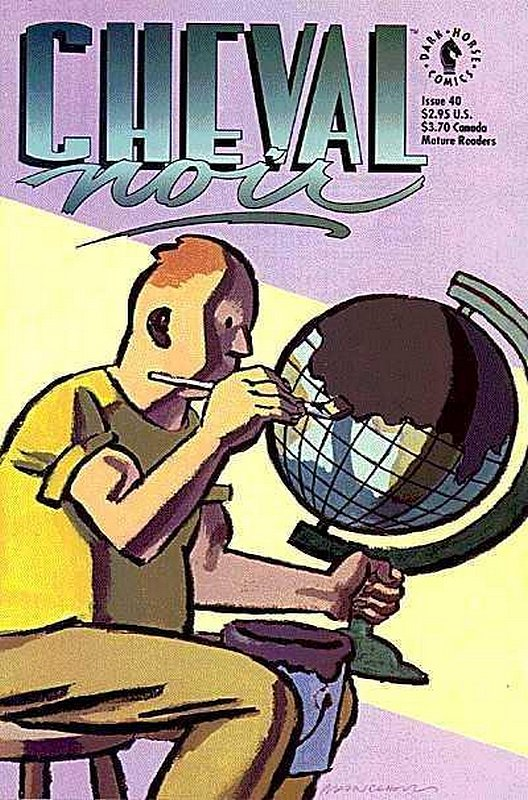 Cover of Cheval Noir (Vol 1) #40. One of 250,000 Vintage American Comics on sale from Krypton!