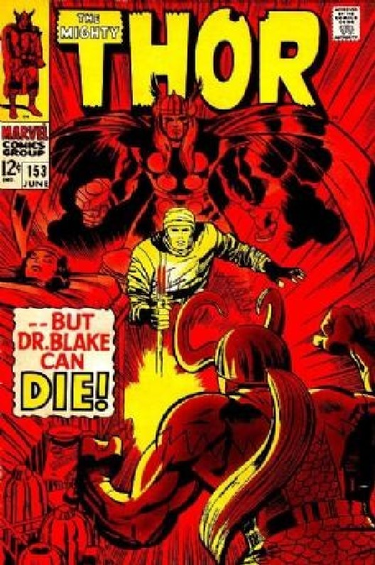 Cover of Thor (Vol 1) #153. One of 250,000 Vintage American Comics on sale from Krypton!