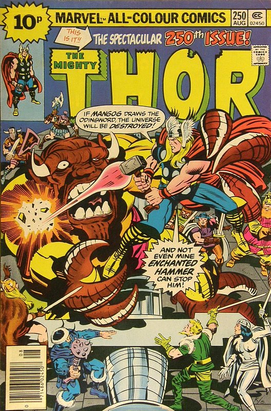 Cover of Thor (Vol 1) #250. One of 250,000 Vintage American Comics on sale from Krypton!