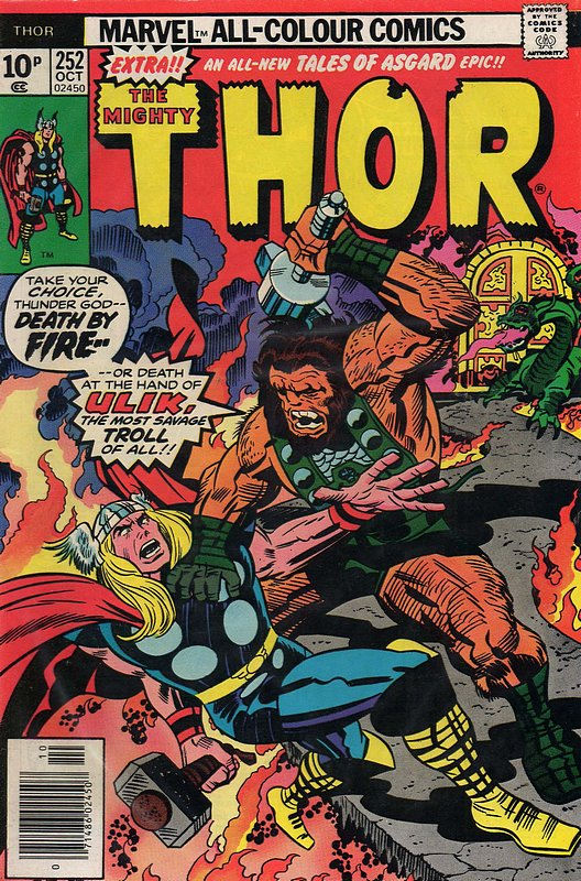 Cover of Thor (Vol 1) #252. One of 250,000 Vintage American Comics on sale from Krypton!