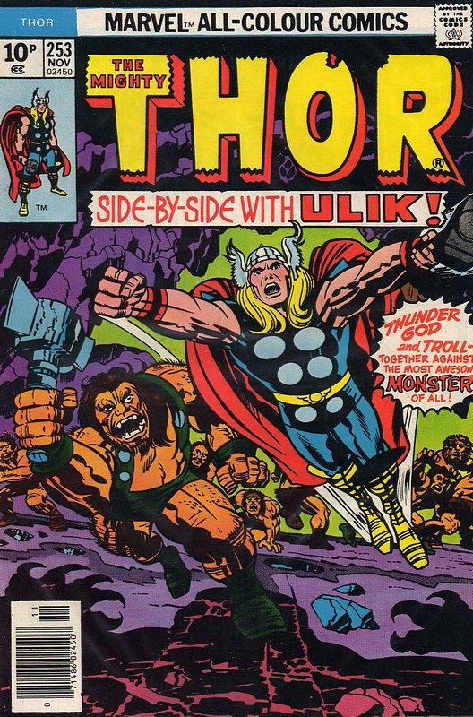 Cover of Thor (Vol 1) #253. One of 250,000 Vintage American Comics on sale from Krypton!