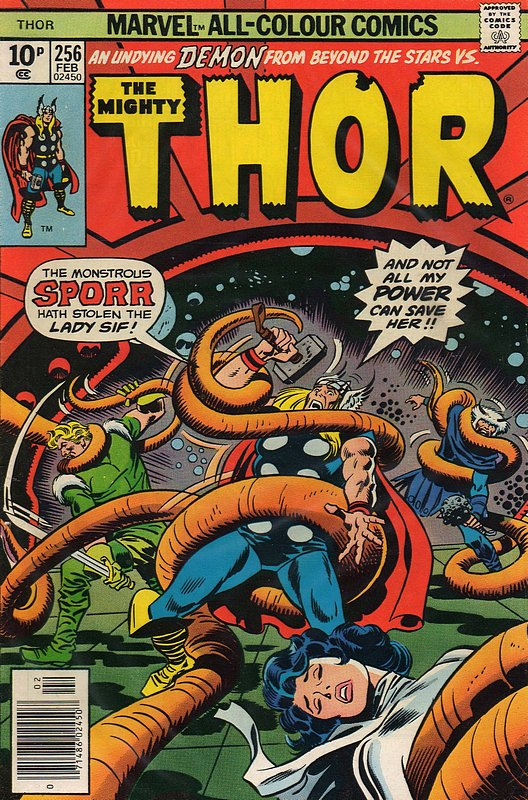 Cover of Thor (Vol 1) #256. One of 250,000 Vintage American Comics on sale from Krypton!