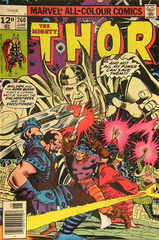 Cover of Thor (Vol 1) #260. One of 250,000 Vintage American Comics on sale from Krypton!