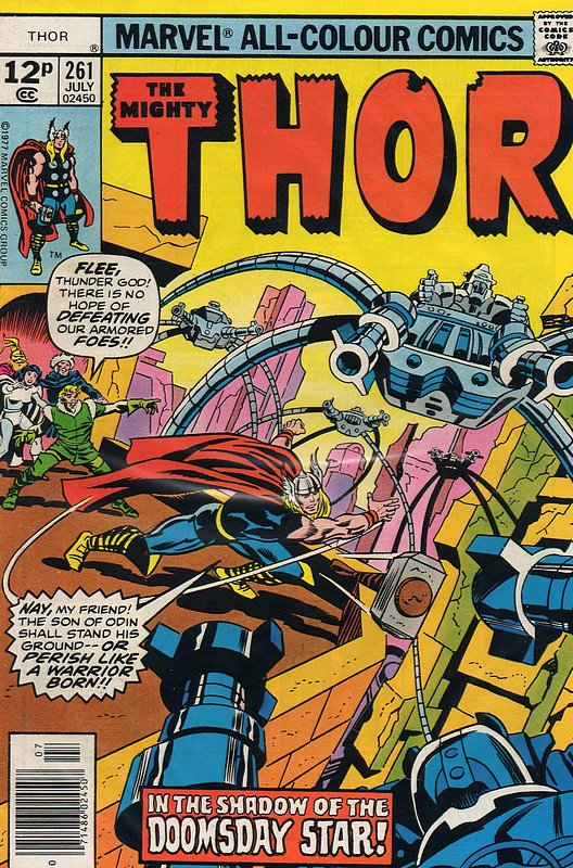 Cover of Thor (Vol 1) #261. One of 250,000 Vintage American Comics on sale from Krypton!
