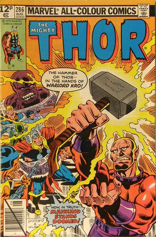 Cover of Thor (Vol 1) #286. One of 250,000 Vintage American Comics on sale from Krypton!
