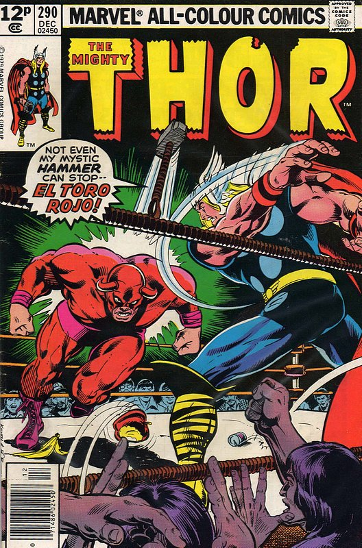Cover of Thor (Vol 1) #290. One of 250,000 Vintage American Comics on sale from Krypton!
