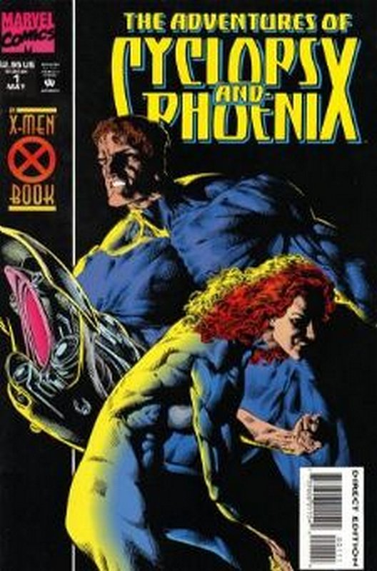 Cover of Cyclops & Phoenix - The  Adventures of #1. One of 250,000 Vintage American Comics on sale from Krypton!