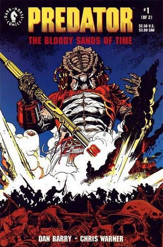Cover of Predator: The Bloody Sands of Time (1992 Ltd) #1. One of 250,000 Vintage American Comics on sale from Krypton!