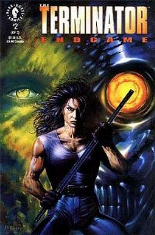 Cover of Terminator: End Game (1992 Ltd) #2. One of 250,000 Vintage American Comics on sale from Krypton!