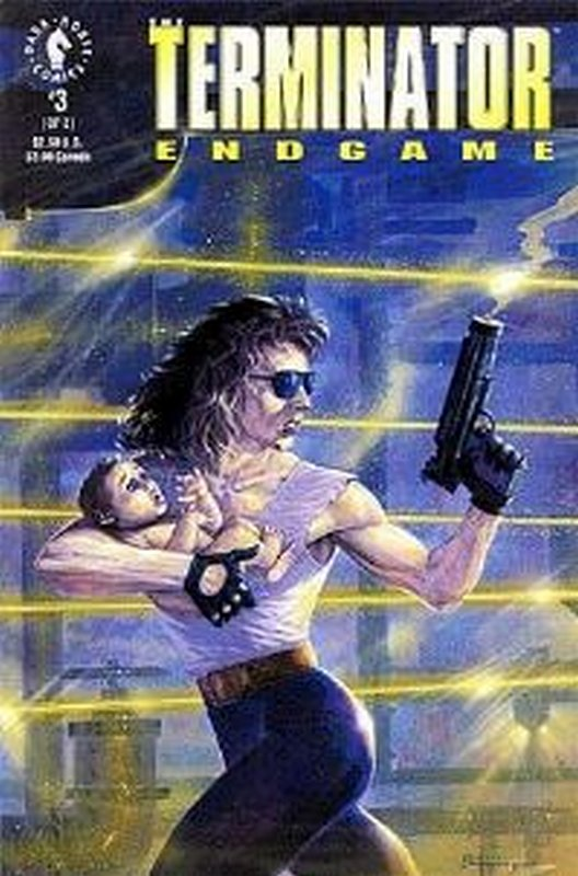 Cover of Terminator: End Game (1992 Ltd) #3. One of 250,000 Vintage American Comics on sale from Krypton!