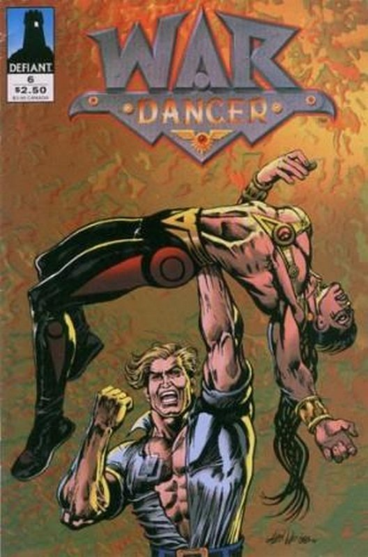 Cover of War Dancer (Vol 1) #6. One of 250,000 Vintage American Comics on sale from Krypton!