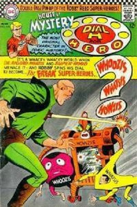Cover of House of Mystery (Vol 1) #165. One of 250,000 Vintage American Comics on sale from Krypton!