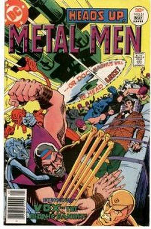 Cover of Metal Men (Vol 1) #51. One of 250,000 Vintage American Comics on sale from Krypton!