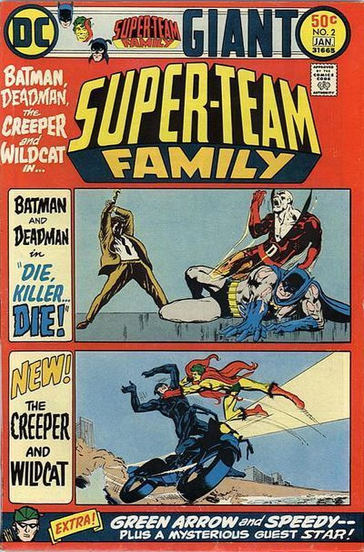Cover of Super-Team Family (Vol 1) #2. One of 250,000 Vintage American Comics on sale from Krypton!